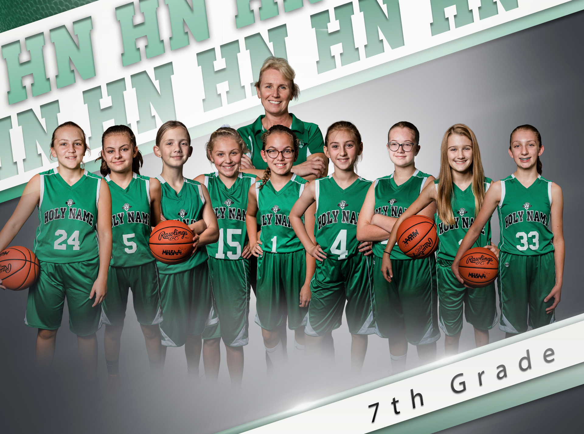 2019 7th Grade Girls Basketball