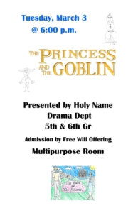 5th & 6th Grade Play - The Princess and the Goblin