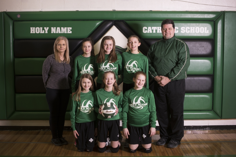 2019 6th Grade Volleyball