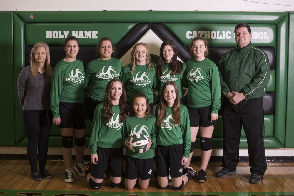 2019 7th Grade Volleyball