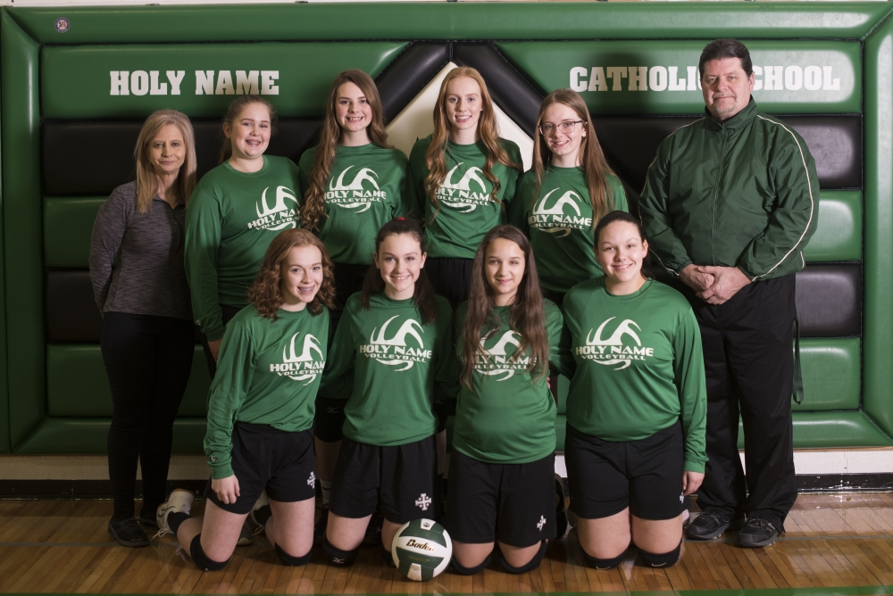 2019 8th Grade Volleyball