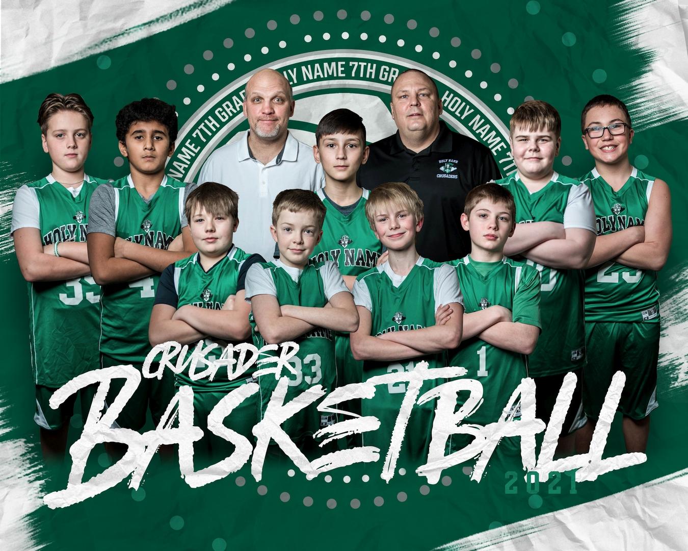 2021 7th Grade Basketball