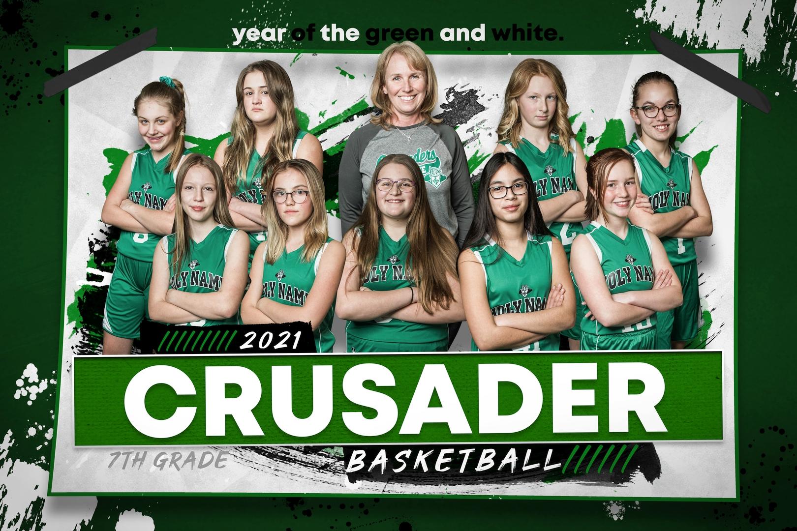2021 7th Grade Girls Basketball