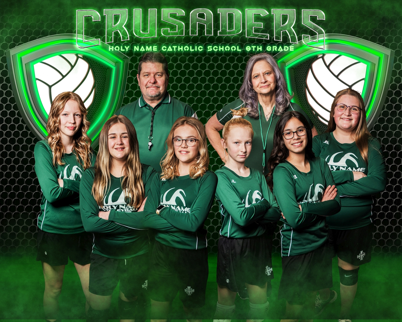 2021 6th Grade Volleyball