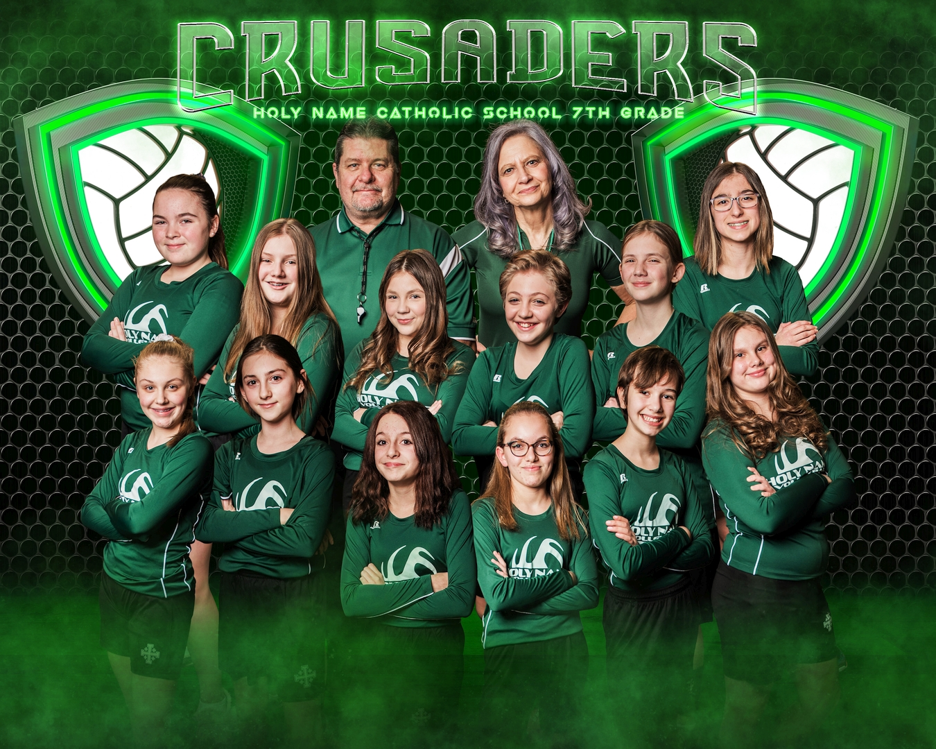 2021 7th Grade Volleyball
