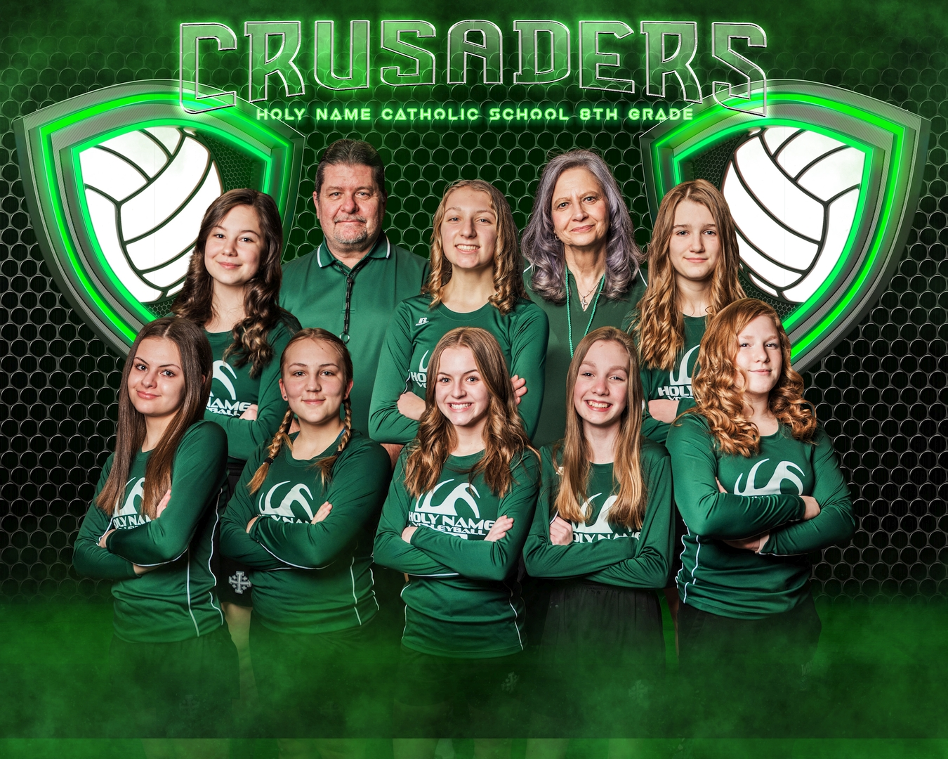 2021 8th Grade Volleyball